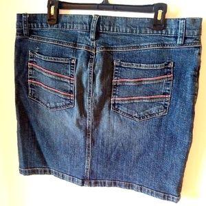 Size 14 Jean Mini Skirt Old Navy